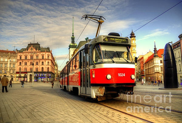 Tram at Brno - Rob Hawkins