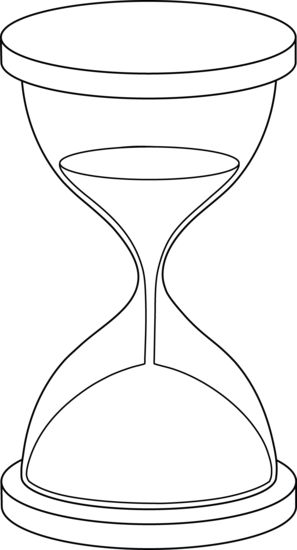 Hourglass Drawing at PaintingValley.com   Explore