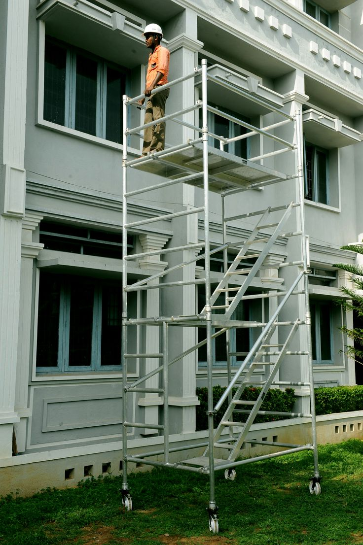 #singlewidthaluminiummobiletowerscaffoldwithoutstair #scaffolding #aluminiumscaffolding