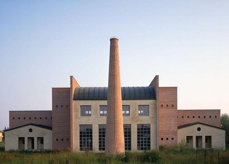 aldo rossi architetto / il municipio, borgoricco