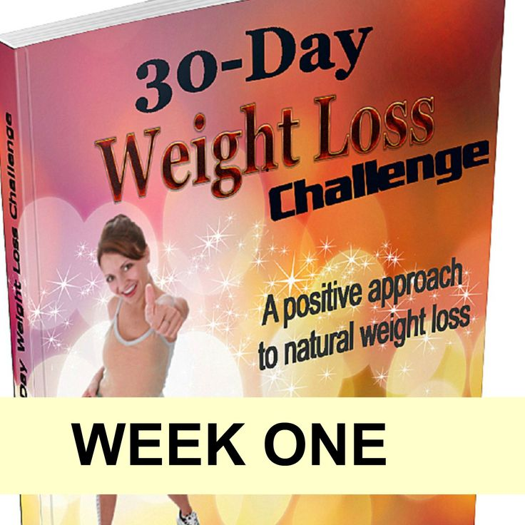 I designed my weight loss challenge to help create a positive mindset for weight loss and ultimately achieve our ideal weight. Here's what happens in week 1