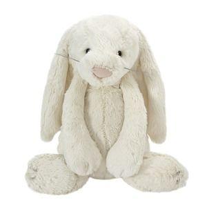 Large Cream Bashful Bunny Soft Toy
