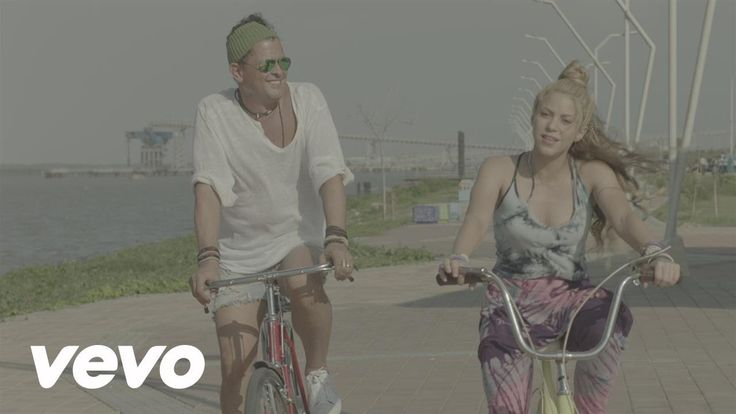 HOY lanzamiento del video La Bicicleta de @carlosvives y @shakira https://www.youtube.com/watch?v=-UV0QGLmYys