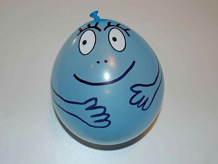 ballon de baudruche Barbapapa Barbibulle