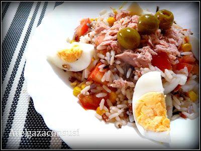 Recetas Light - Adelgazaconsusi: Ensalada de arroz salvaje