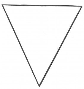 patroon vlag slinger stof of papier - A pendulum making fabric or paper