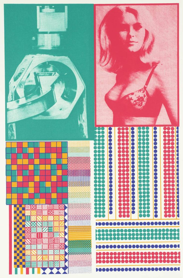 Sir Eduardo Paolozzi '[no title]', 1967   screenprint © The Eduardo Paolozzi Foundation