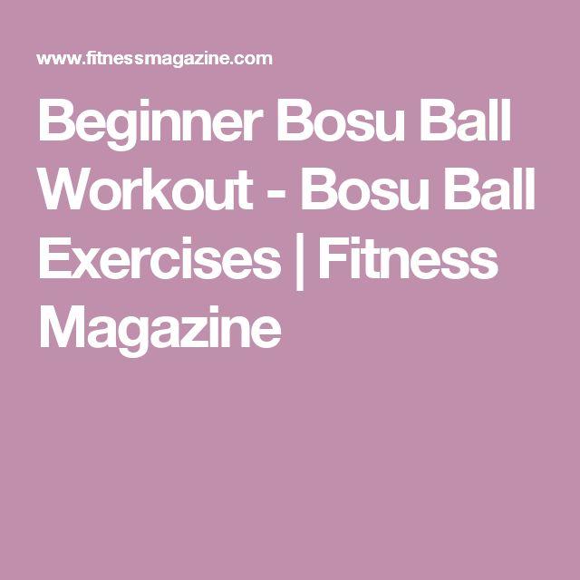 Bosu Ball Benefits: 17 Best Ideas About Bosu Ball On Pinterest