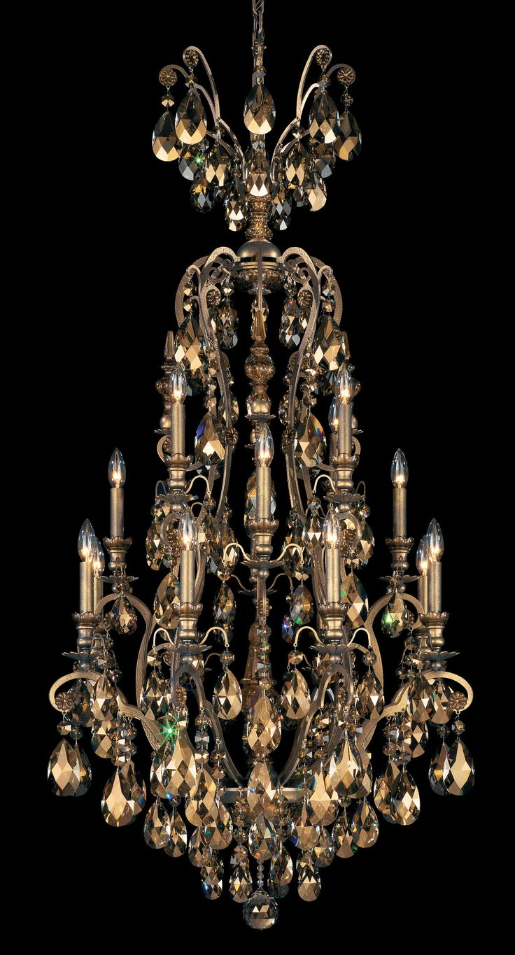A crystal chandelier inspired by the magnificent