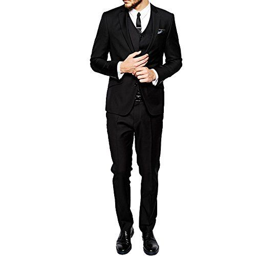 Products Key Features HBDesign designs Men's Suits for more exquisite life. Please check our Size Chart before choosing our products to fit your figure well. Absolutely alterations is required for your Pants to fit perfect, please contact your local tailor's shop for help. We also...  More details at https://jackets-lovers.bestselleroutlets.com/mens-jackets-coats/suits-sport-coats/suits/product-review-for-hbdesign-mens-3-piece-2-button-slim-fit-business-fashion-su