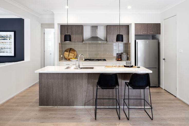 Domaine Homes. Nevada 28. Kitchen. Internal Colour Scheme: Lunar Forest