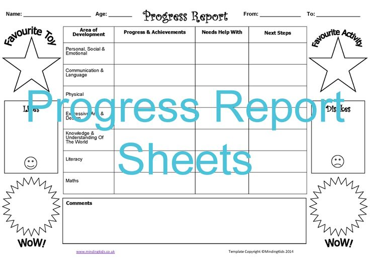 Summarise and share children's progress and achievements. Note down likes and dislikes, favourites, WOW moments and plan the next steps to support their learning. Also suitable for NURSERY settings!