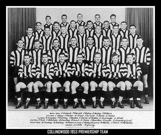 Collingwood Football Club - 1953 Premiership team
