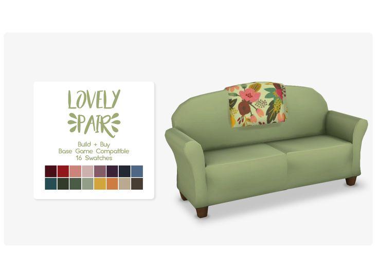 Nolan-Sims - Lovely Pair Sofa!