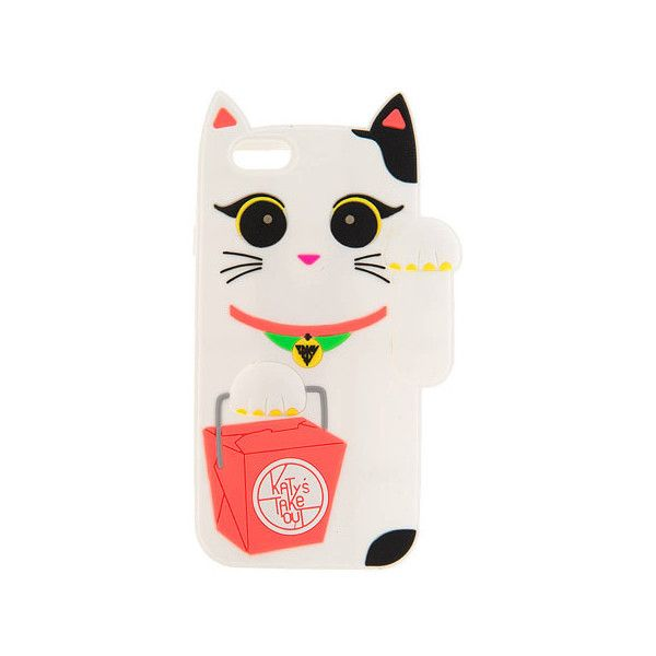Katy Perry White Light Up Cat Phone Case iPhone 6/6S ($18) liked ...
