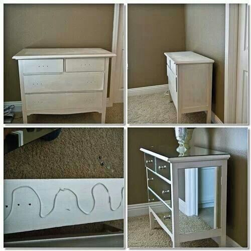 Diy mirrors in an old furniture diy furniture for Diy ideas for old dressers