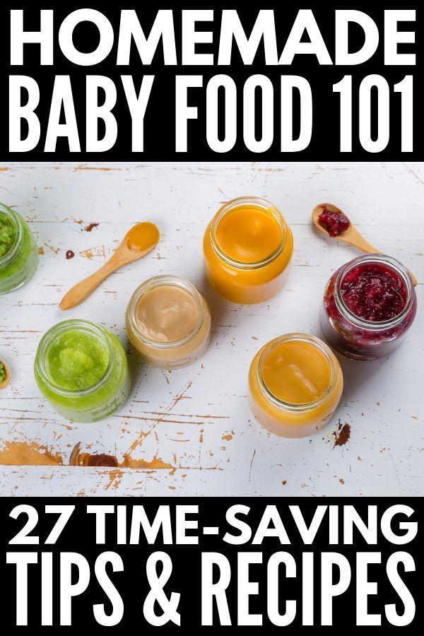 Hausgemachte Babynahrung zubereiten: 27 Tipps, Hacks und Rezepte   – Baby Food Recipes