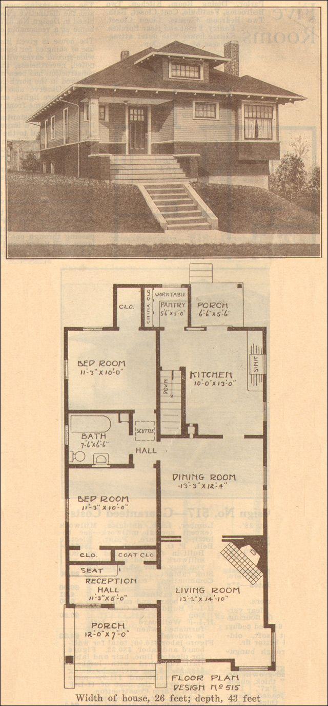 84 best bungalow plans images on pinterest craftsman bungalows