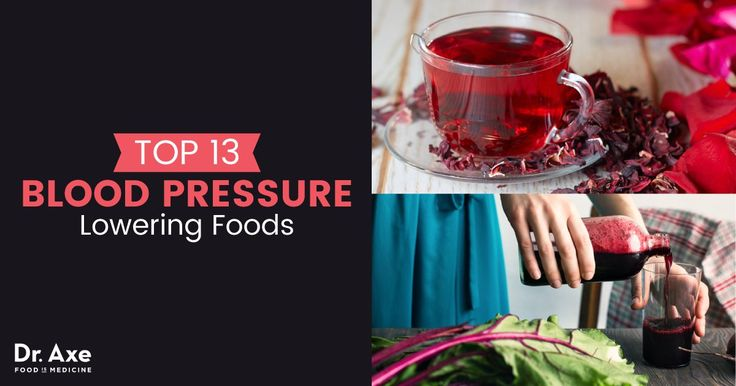 Foods that Lower Pressure + the High Blood Pressure Diet - Dr. Axe https://draxe.com/foods-that-lower-blood-pressure/