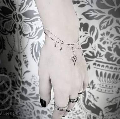 Résultats de recherche d'images pour «tatuagens pulseira»