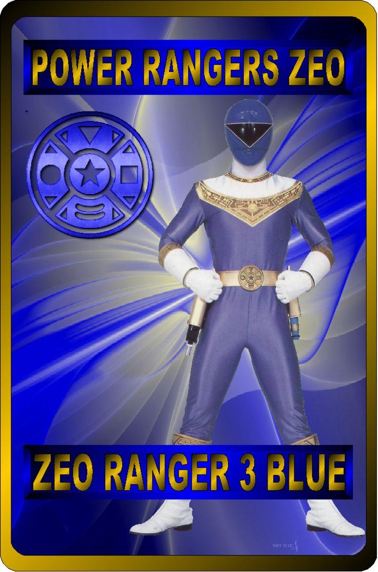 Zeo Ranger 3 Blue by rangeranime on @DeviantArt