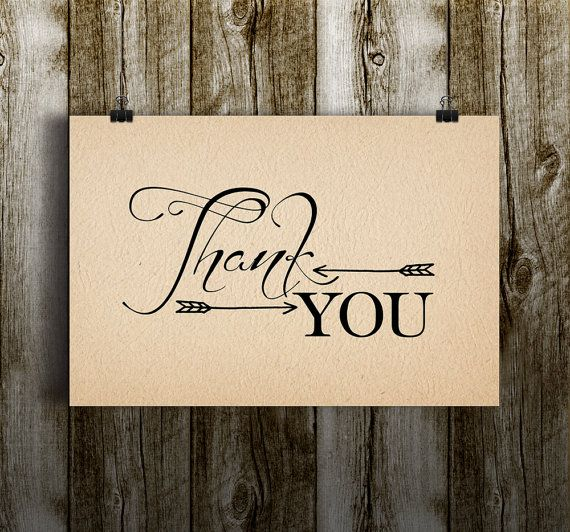 Thank you cards rustic – Best postcards 2017 photo blog