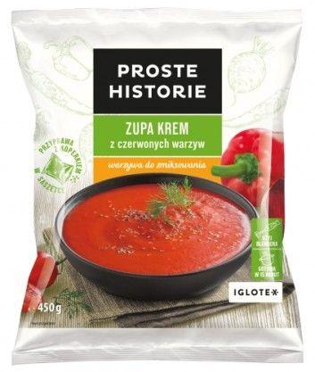 PROSTE HISTORIE I ZUPA KREM z czerwonych warzyw I Ciekawy, prosty motyw. #storytelling #kuchnia #marka #design