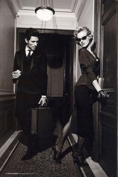 <3: Eva Herzigova, White Photography, Photo Ideas, Noir Hotels, Black White, The Games, Gentleman Style, Classic Style, Fashion Photography