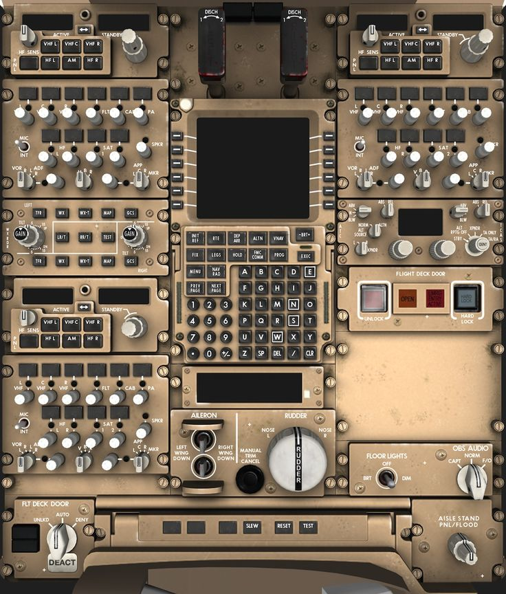 space shuttle cockpit layout - Google Search