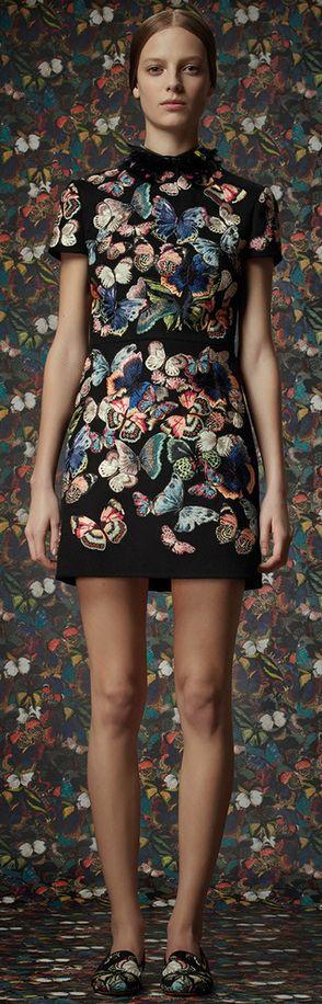 Pre-Fall Valentino. Estampa borboletas