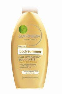 Bodysummer - Garnier - Selbstbräuner: Im Handumdrehen ein Traumteint - Eine super hydratierende Körpermilch, die genau den richtigen Touch Selbstbräuner (DHA) enthält und täglich für eine einheitlich leichte Bräunung sorgt. Und zwar das ganz...