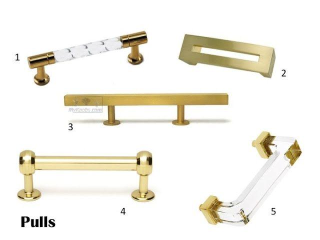 Brass Kitchen Cabinet Handles