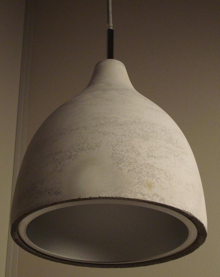betonnen lampen, nieuw verlichtingsdesign
