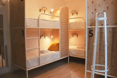Семейный номер эконом (до 6 человек) – Отель Хостел «Netizen»