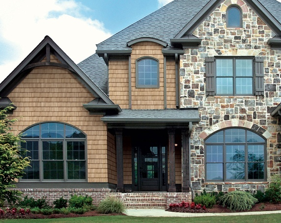 17 best images about stone and cedar on pinterest house for Stone and cedar homes