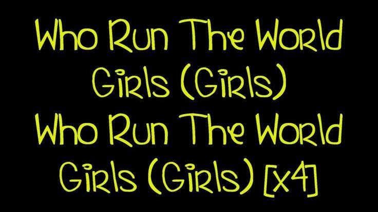 Beyoncé - Run The World (Girls) [Lyrics] HD Boy don't even try to touch this