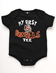 Cincinnati Bengals Newborn Baby Bodysuit