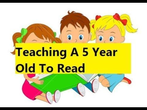 Teaching A 5 Year Old To Read - Teach Your Child to Read ...