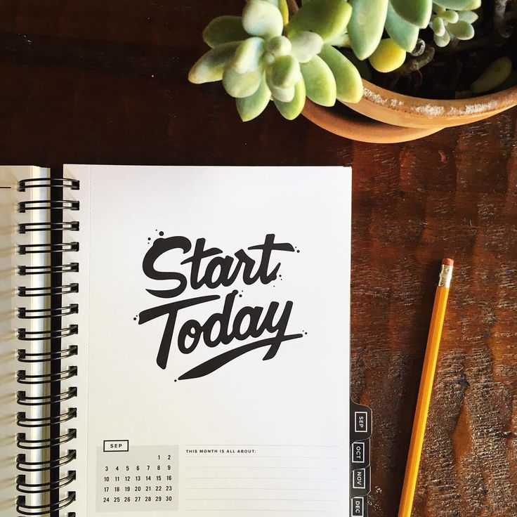 """START TODAY is a play-off of one of my biggest business mottos: """"just start."""" It's not about finding the right moment or knowing all the steps or having a """"perfect plan"""" or the """"perfect day."""" It's about TODAY. It's about getting something rolling. It's about taking the leap or the tiptoe off the starting line."""