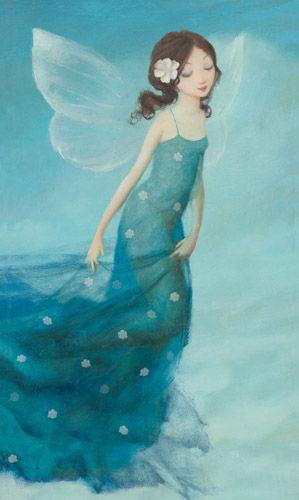 Blue fairy by Mackey, #Fairy, #Mackey