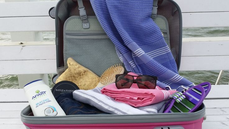 Podróżuj z Ręcznik Hamam!