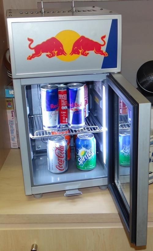 Red Bull Mini Refrigerator Counter Top Fridge Will Fit