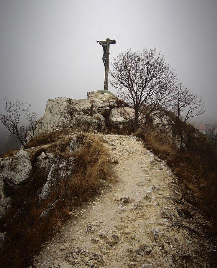 Pécs, Havi-hegyi feszület / Pécs, Havihegy Hill, crucifix - Pécs, Hungary