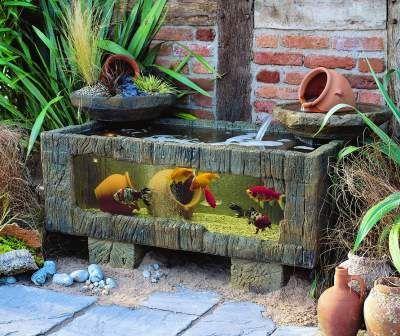 Ff Decorations Maison Aquarium