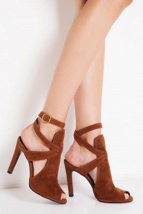 Casavie Nicoletta Taba Topuklu Ayakkabı