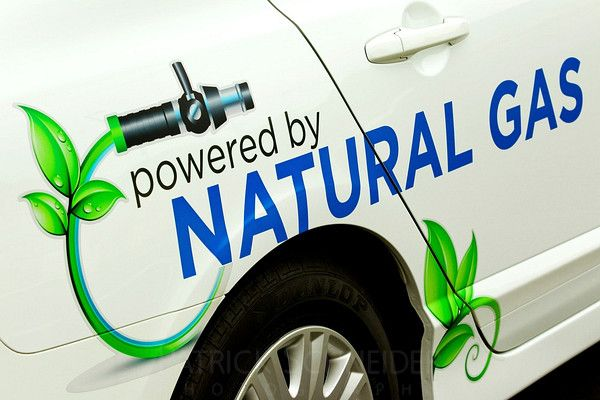 Compressed Natural Gas (CNG)... significant reduction in emissions compared to gasoline powered vehicles.