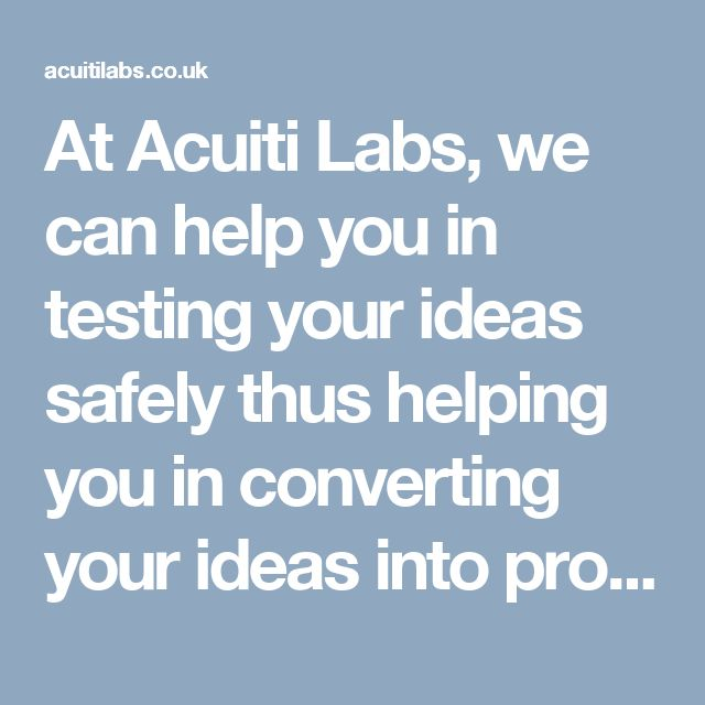 At Acuiti Labs, we can help you in testing your ideas safely thus helping you in converting your ideas into profitable businesses. Check out our engagement model and choose the one that best suits your requirement >> http://acuitilabs.co.uk/engagement-models/