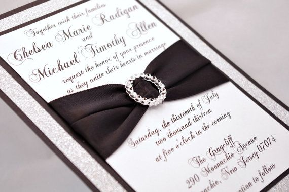 Black And Silver Wedding Invitations: 1000+ Ideas About Black Silver Wedding On Pinterest