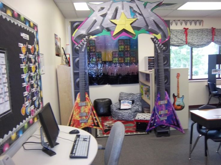 Music Themed Classroom Decorations ~ Best images about rock star room on pinterest