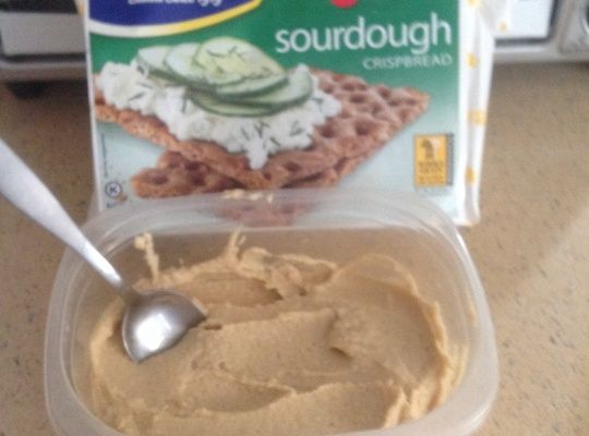 If you are familiar with the hummus brand Sabra, this recipe tastes the same, if not better. This recipe will not only save you money, but you know and can control exactly what goes into it.